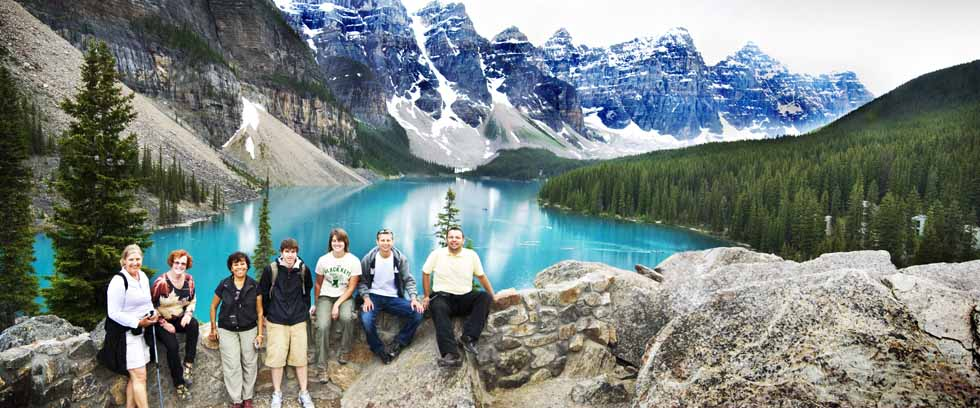 PhotoFly Travel Club | Canadian Rockies Morraine Lake | PhotoFly Travel Club