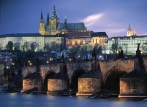 River Prague Castle