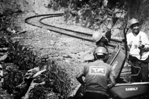 Train workers Peru