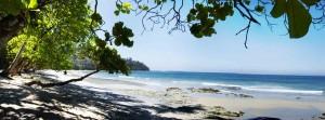 costa rica beach shot
