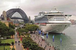 cruising in Australia