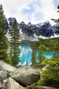 Morraine Lake in Canada
