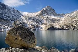 Blue lake Colorado