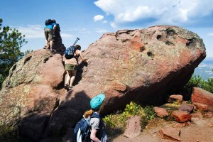 Boulder Creek hike Colorado