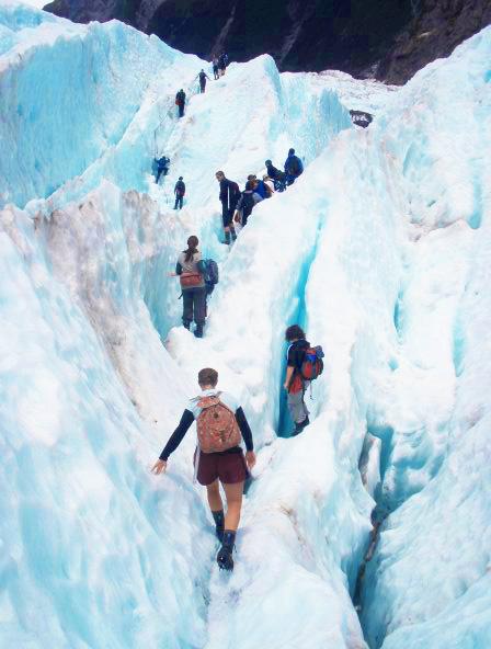 NZ glacier walks
