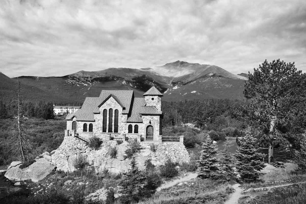 PhotoFly Travel Club | Colorado Rockies Church | PhotoFly Travel Club