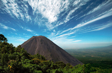 volcano's central america