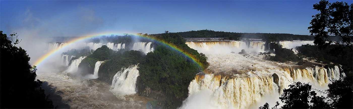 PhotoFly Travel Club | Iguazu Falss Pan WP | PhotoFly Travel Club