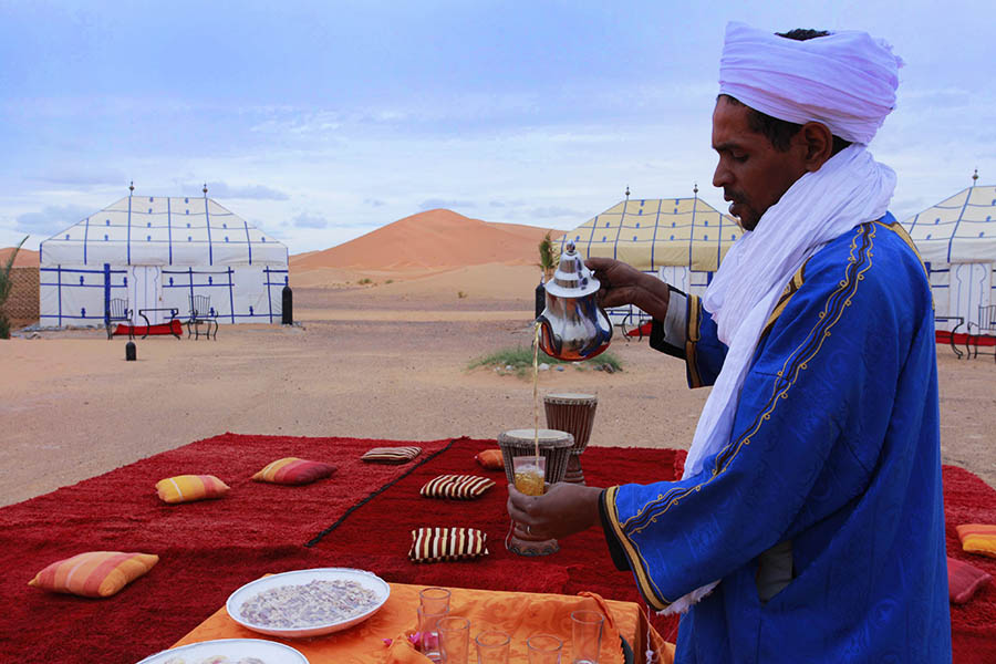 desert camps morocco