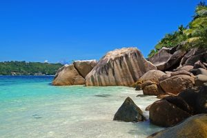 Seychelles beach group tours