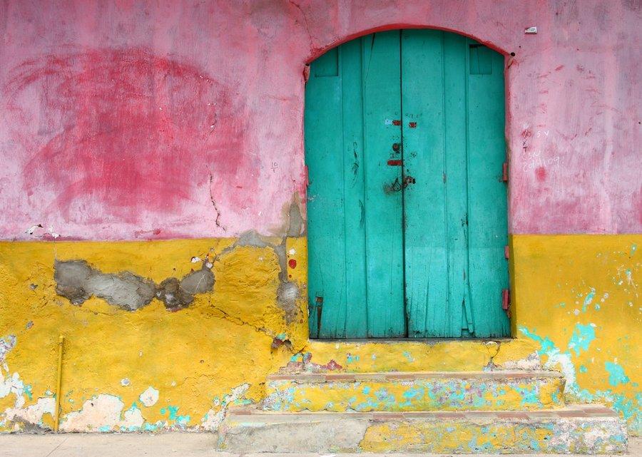 PhotoFly Travel Club   green_door__granada__nicaragua_by_jorobins-d3arr3m   PhotoFly Travel Club