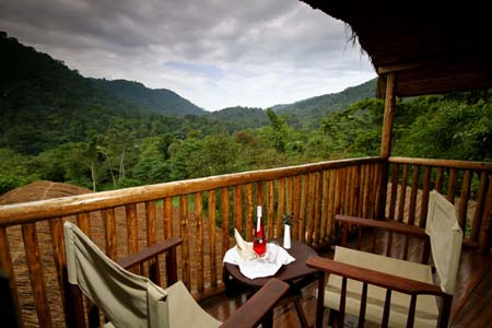 PhotoFly Travel Club | Buhoma deck | PhotoFly Travel Club