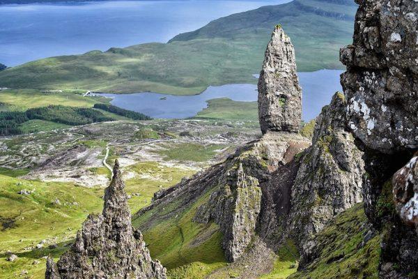 Scotland travel landscapes