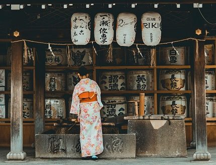 PhotoFly Travel Club | kimono and sake | PhotoFly Travel Club