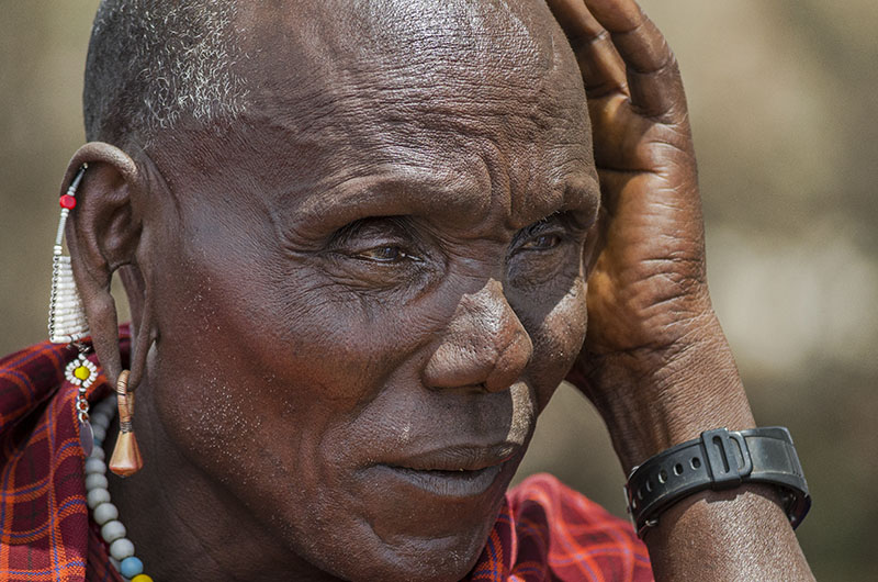 PhotoFly Travel Club   Tanzania old man Masai WP   PhotoFly Travel Club