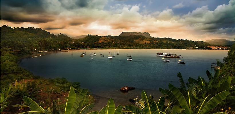PhotoFly Travel Club | Baracoa sunset pan | PhotoFly Travel Club