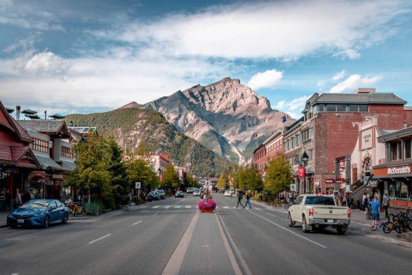 Banff Canada Group tour