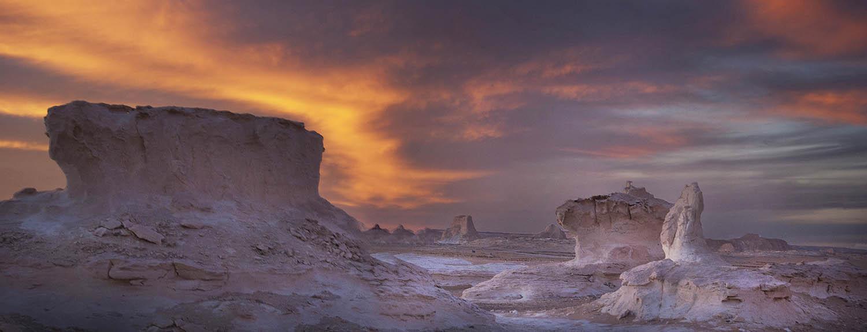 PhotoFly Travel Club | The White Desert Dusk Cropped | PhotoFly Travel Club